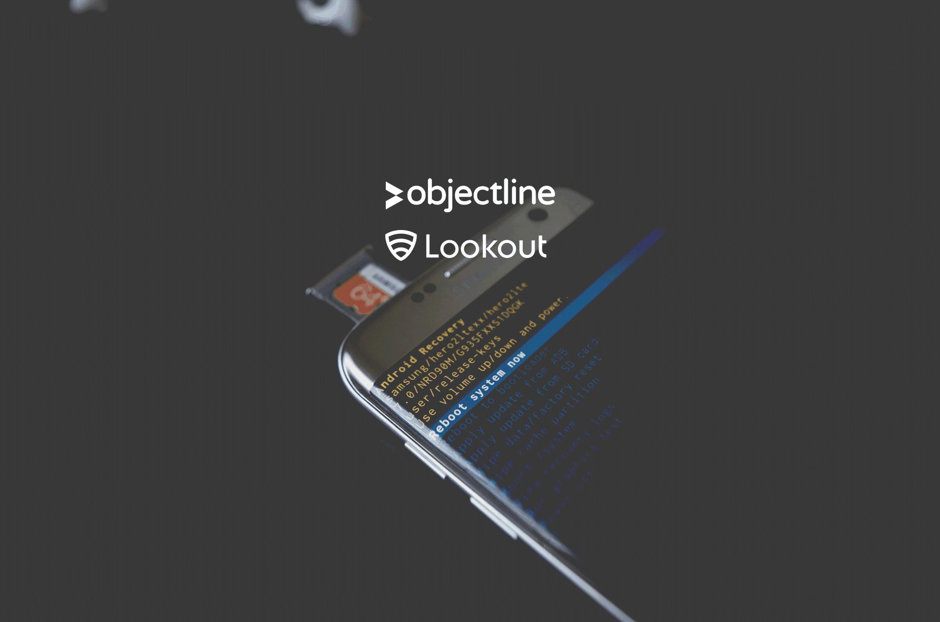 objectline lookout données mobiles